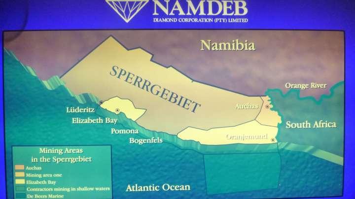 DiamondsLab w Namibii