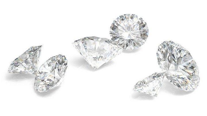 Sławne południowoafrykańskie diamenty.